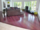 An Inviting Purpleheart Floor