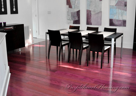 Purple heart wood flooring carpet vidalondon for Purple heart flooring